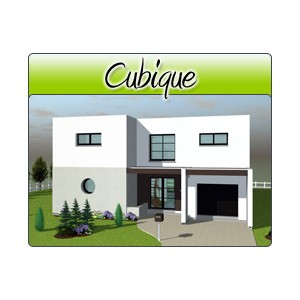 cubique cub03 plans de maison moderne. Black Bedroom Furniture Sets. Home Design Ideas