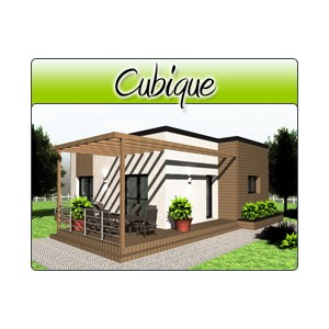 cubique cub06 plans de maison moderne. Black Bedroom Furniture Sets. Home Design Ideas