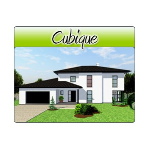 cubique cub12 plans de maison moderne. Black Bedroom Furniture Sets. Home Design Ideas