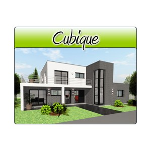 Cubique cub27 plans de maison moderne for Plan de maison cubique
