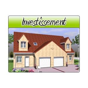 Investissement inv05 plans de maison moderne for Acheter garage investissement