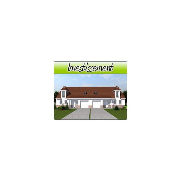 Investissement inv14 plans de maison moderne for Acheter garage investissement