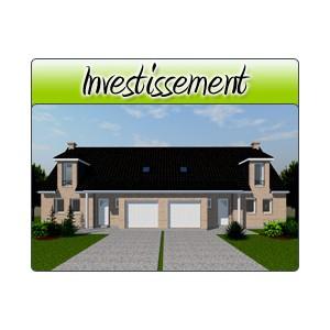 Investissement inv16 plans de maison moderne for Acheter garage investissement