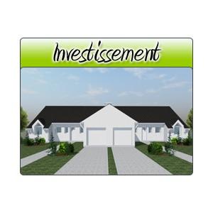 Investissement inv20 plans de maison moderne for Acheter garage investissement