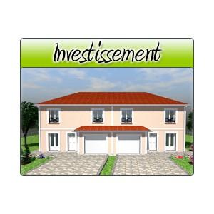 Investissement inv22 plans de maison moderne for Acheter garage investissement