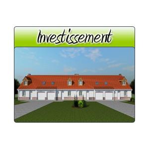 Investissement inv26 plans de maison moderne for Acheter garage investissement