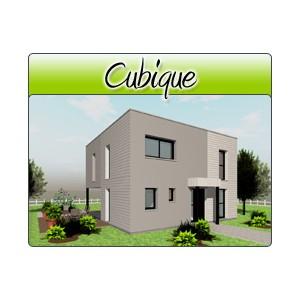 cubique cub01 plans de maison moderne. Black Bedroom Furniture Sets. Home Design Ideas