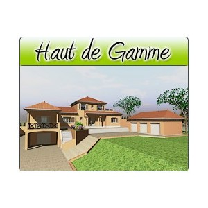 haut de gamme hg01 1 plans de maison moderne. Black Bedroom Furniture Sets. Home Design Ideas