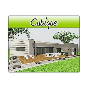 Cubique cub24 plans de maison moderne for Maison cubique plain pied