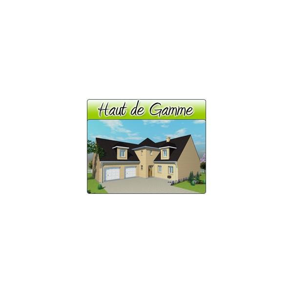 Haut de gamme hg03 plans de maison moderne for Concepteurs de plans haut de gamme