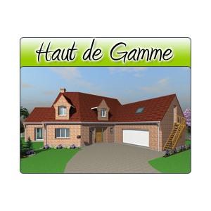 Haut de gamme hg06 plans de maison moderne for Plan maison haut de gamme