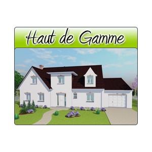 Haut de gamme hg07 plans de maison moderne for Plan maison haut de gamme