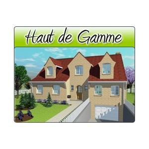 Haut de gamme hg09 plans de maison moderne for Plan maison haut de gamme